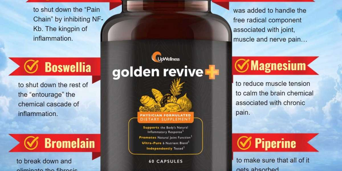 Golden Revive+ Reviews, Official Website & How To Order In USA