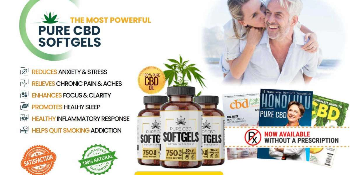 Pure CBD SoftGels Official Website & Price For Sale In The UK